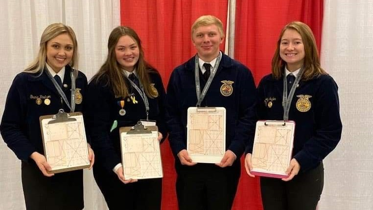 Viborg-Hurley at FFA National Convention