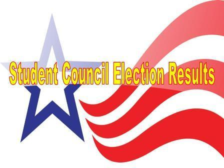 Elementary Student Council Election Results