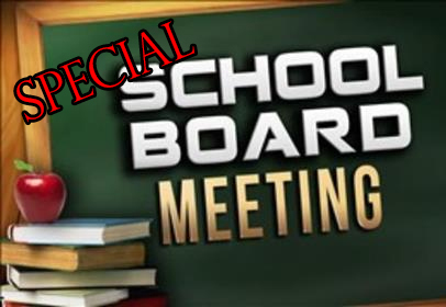 SPECIAL SCHOOL BOARD MEETING ON DISTRICT'S COVID-19 CLOSE CONTACT TRACING AND PRACTICES MOVING FORWARD