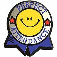 Perfect Attendance - Viborg-Hurley Elementary
