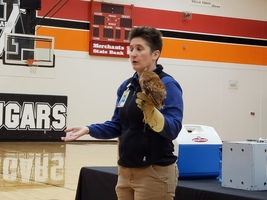 The Great Plains Zoomobile Visits V-H Elementary