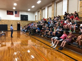 Encouragement Assembly at VHMS