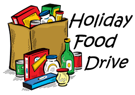 Student Councils Sponsoring Holiday Food Drive