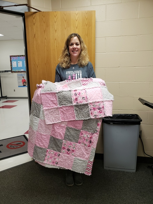 Think Pink Quilt Raffle Winner