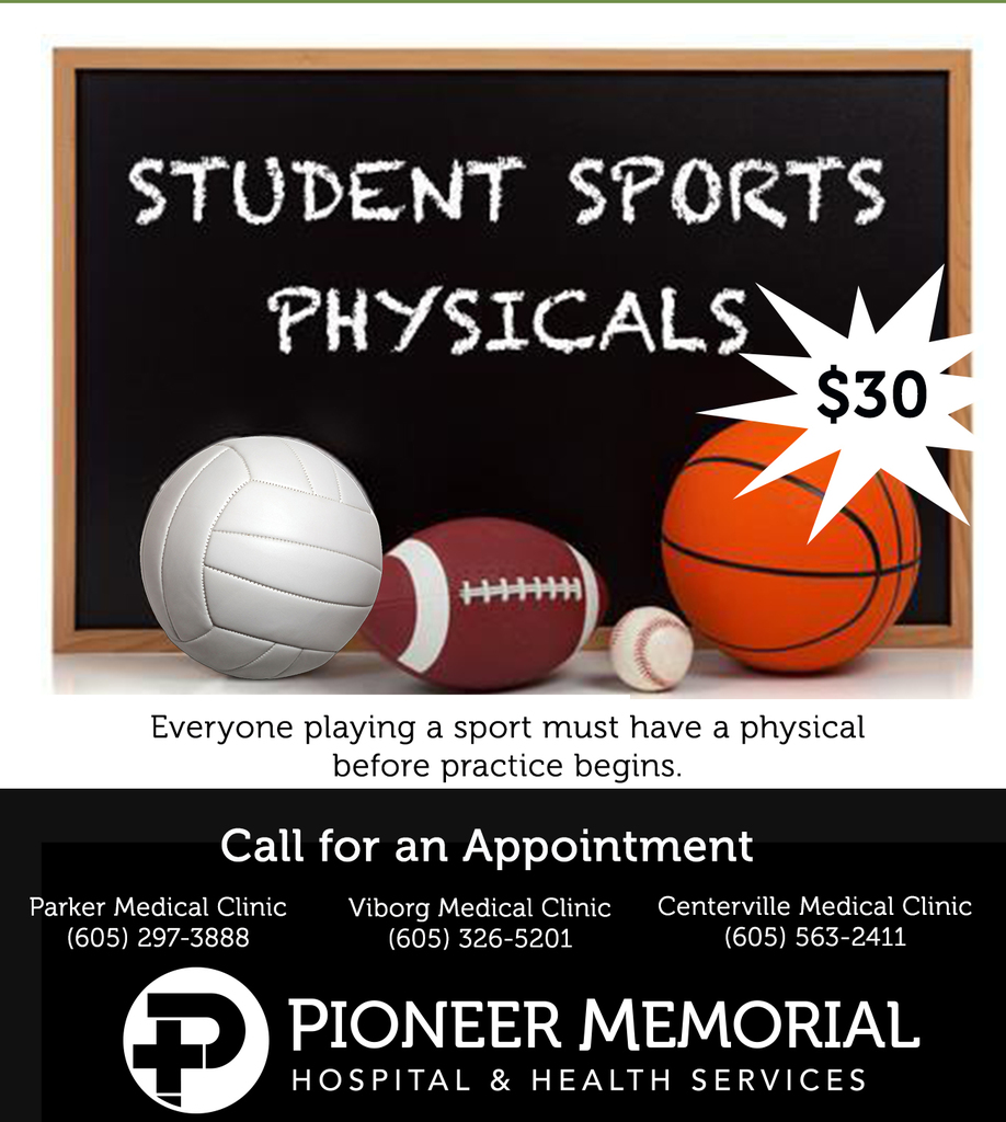 PioneerMemorialSports Physicals