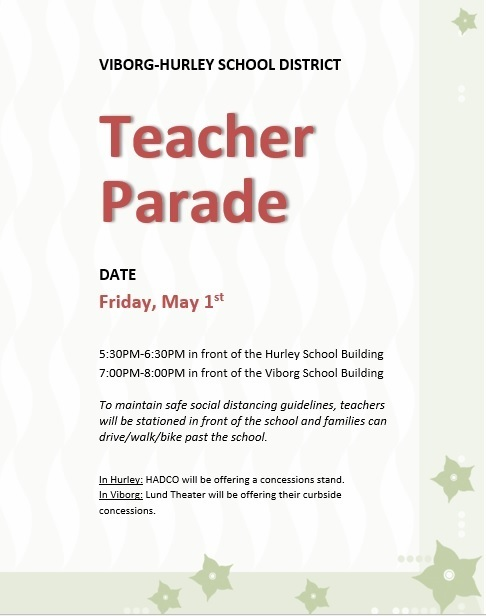 TeacherParadeFlyer