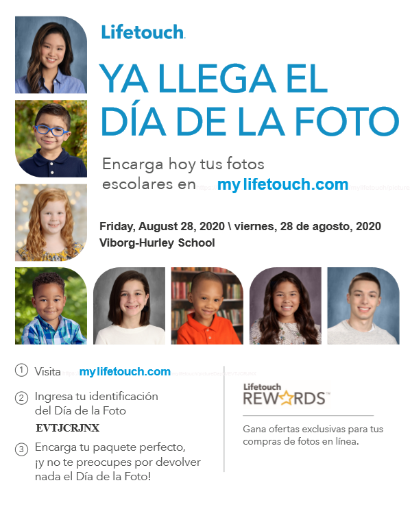 Fall Picture Day Flyer Spanish