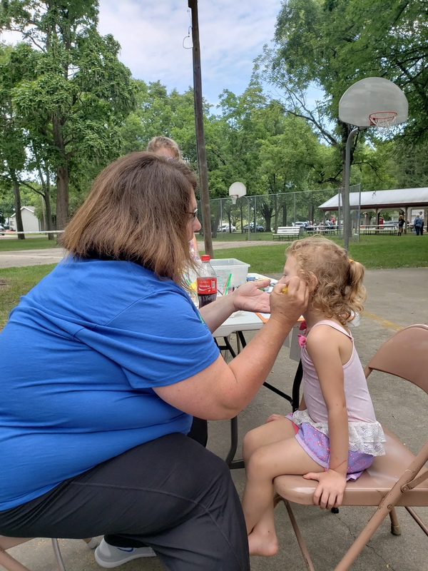 Face Painting in the Park